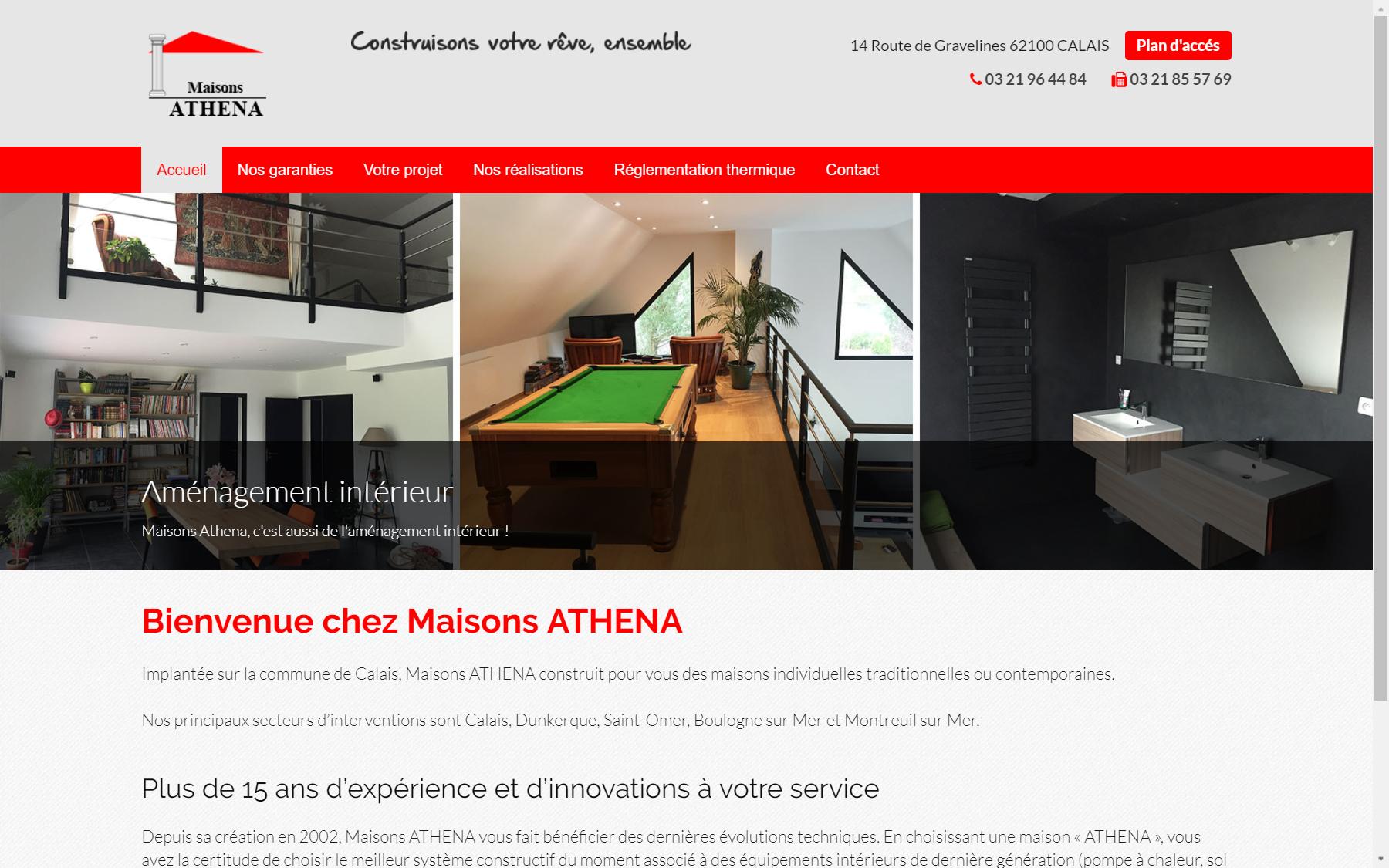 Agence coteo cr ation du site internet du constructeur for Site constructeur